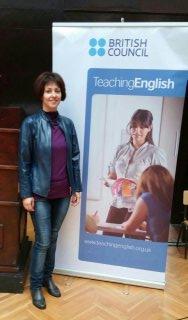 Marija Hajdukovic, vlasnica i predavac u skoli stranih jezika Merriam